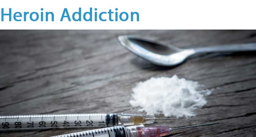 Heroin addiction London